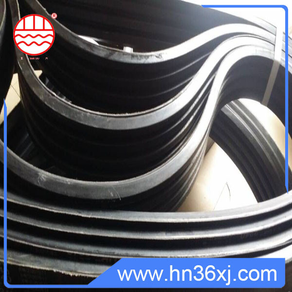 China exporter special cord rubber used CR&NR banded rubber v-belt