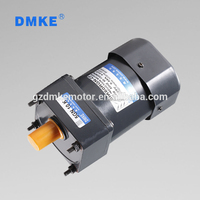 1/8hp 220V 140W speed adjustable single phase ac gear motor 100 rpm
