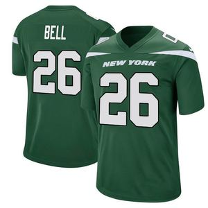 best sublimated 26 le'veon bell 14 sam darnold 33 jamal adams men american football jersey 2019