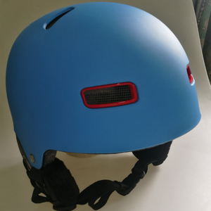 Skiing helmet with warm material, snowing sport helmet for skiing, snowboard protect ski helmet