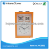 Table plastic date and day flip clock steel frame