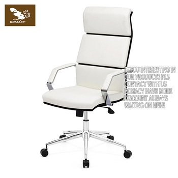 Luxe Leren Bureaustoel.Hoge Kwaliteit Moderne Executive Bureaustoel Luxe Lederen