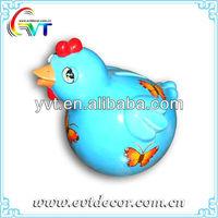 Ceramic Chicken Coin Bank
