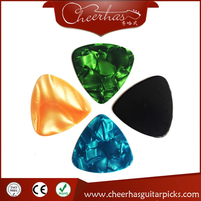 Hot selling celluloid triangle blank guitar pick sheet without any printing