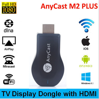 Anycast TV Stick Miracast Wifi Smart Dongle DLNA Airplay HDMI 1080P Dongle Receiver Support Mac iOS Android