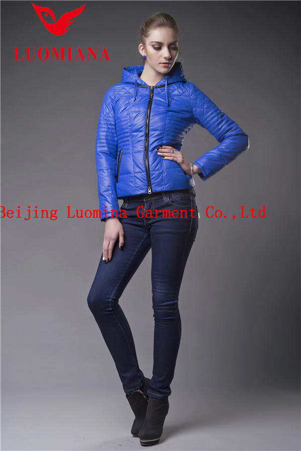 Polyester Outdoorwear Woman Jacket Spring