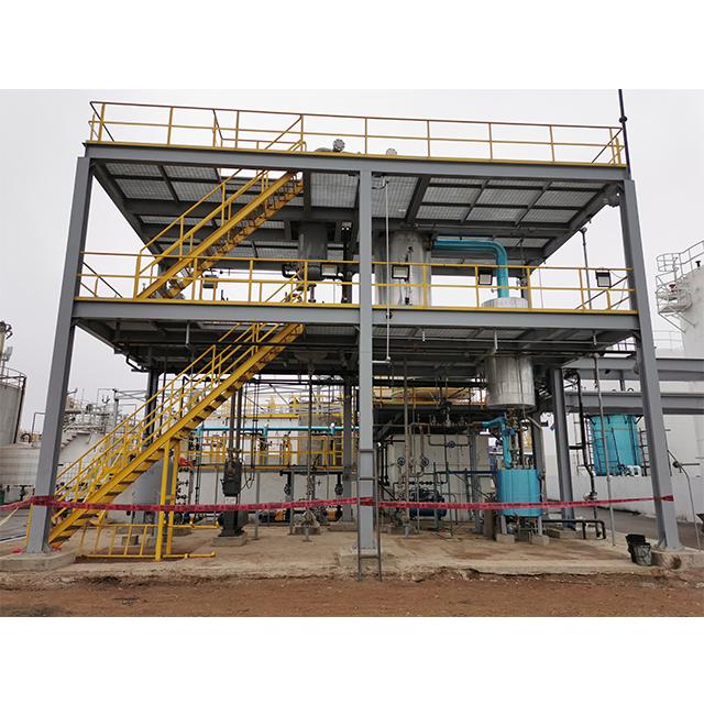 3-5T mini biodiesel production line crude oil refinery plant biodiesel production using waste animal fat