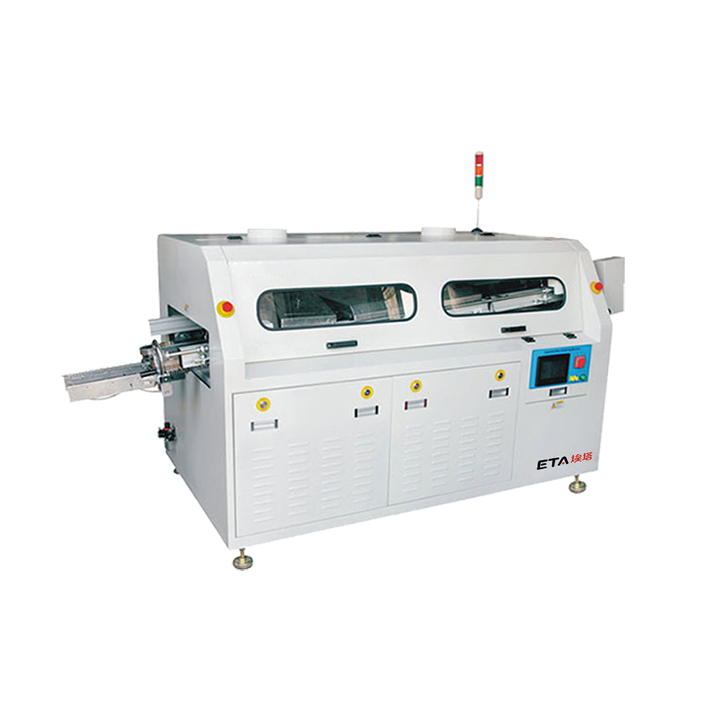 Small automatic PCB wave solder machine / Conveyor wave soldering machine