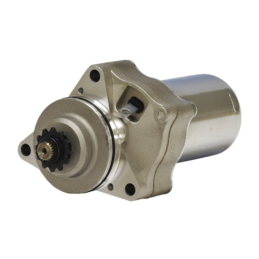 Alvey 12 Volt Electric Starter Motor for 50cc - 150cc ATV & Dirt Bike Engines with 3 Mounting Holes