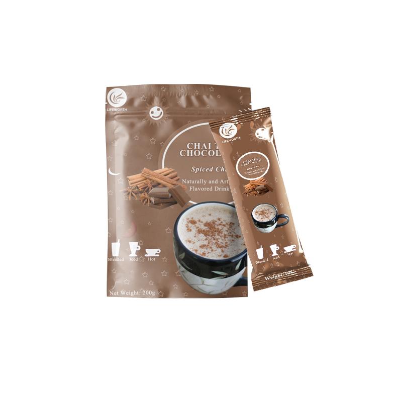 Lifeworth hot chocolate chai black tea - 4uTea   4uTea.com