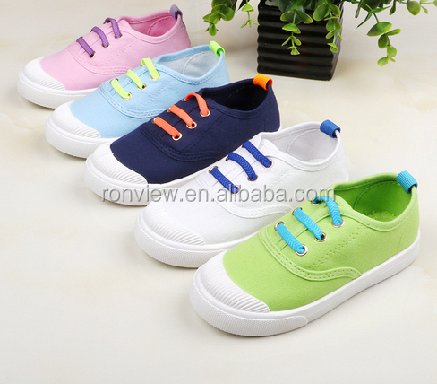 2017 Kids Sneakers Injection Canvas Casual Shoes