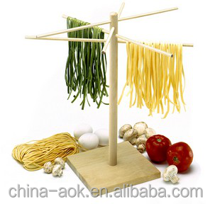 Hot Selling Cheap Wooden Kitchen Pasta Drying Rack