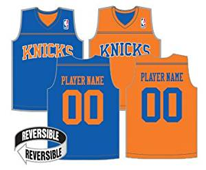 f7bbb440c Get Quotations · NBA Reversible Jerseys (CUSTOM or Blank Back) Officially  Licensed Alleson Replicas (All 30