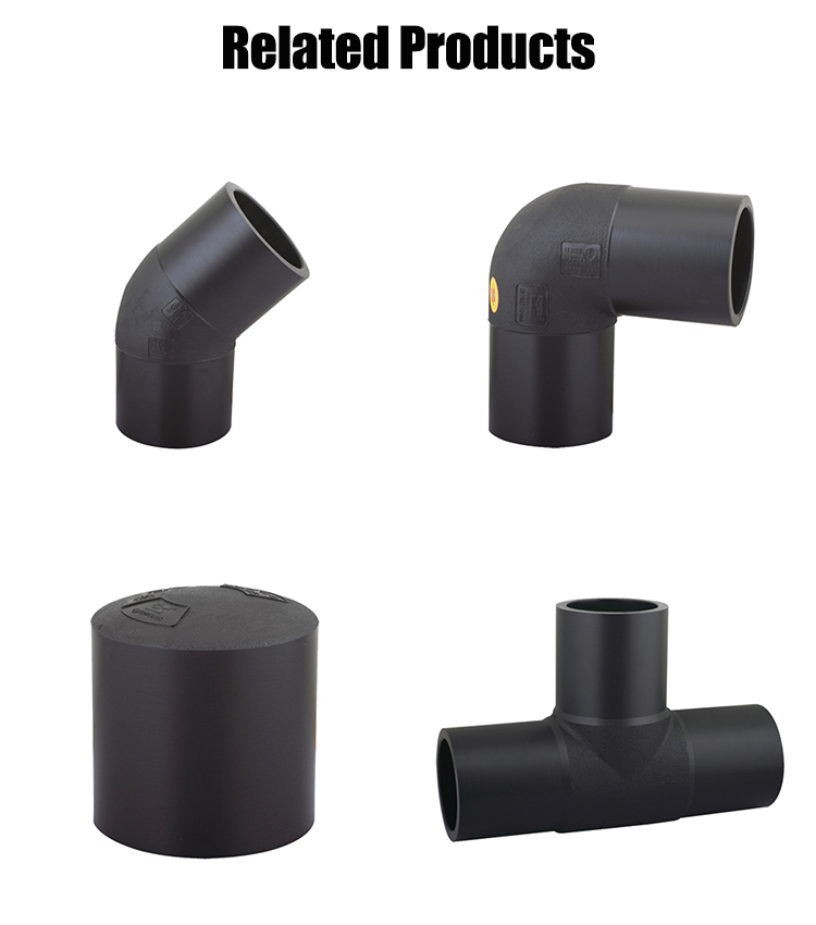 Pe Hdpe To Steel Pipe 90 Degree Welding Steel Transition Fittings