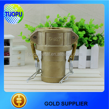 China Factory Brass Water Hose Quick Coupling Brass Camlock ...