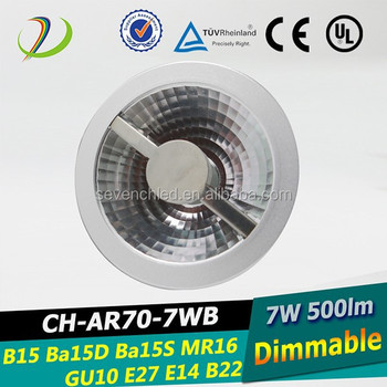Ba15d Ar70 Led Lamp Gu10 Mr16 Led Spot Light Ar70 Led Light 12v Dc ...