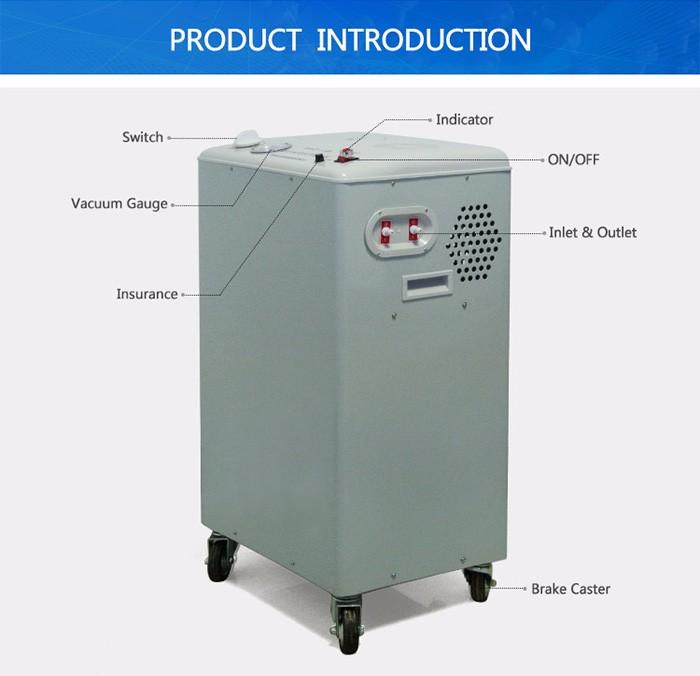 Rotary Evaporator Ancillary Equipment Vertical Circulating Water Vacuum Pump