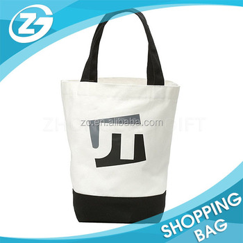 natural color personalized logo cotton bag cheap logo shopping tote