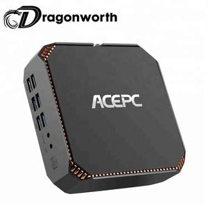 smart tv box Support Intel Core 7th Generation i3-7100U internet live box  with CK2 ACEPC win 10 system tv box