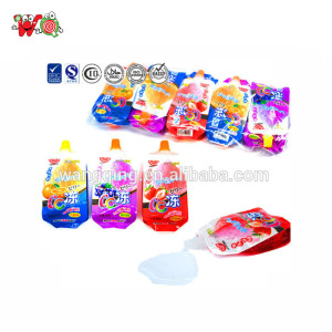 wholesale chaoan CC sweet suck fruit jelly drink for kid child