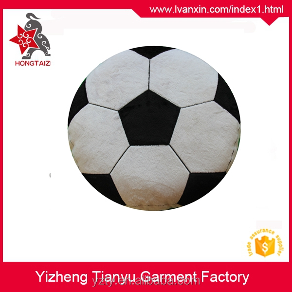 Best quality Round shape plush football pillow