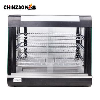 Heated Display Cabinet Pie Warmer Hot Food Showcase Fried Chicken ...