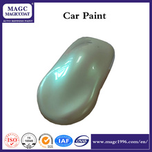 Green Pearl new car paint colors for full car paint