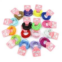 10pcs Baby Girl Kids Tiny Hair Bands Elastic Ties Ponytail Holder