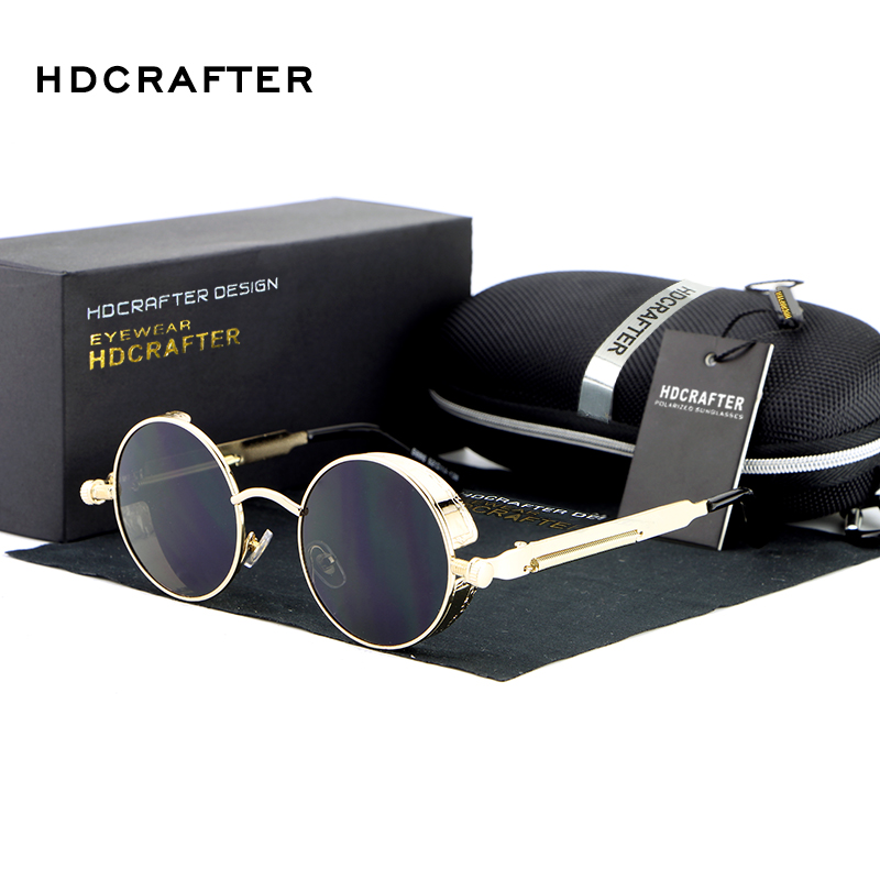 ba0f564b9a9e1 Wholesale Gothic Steampunk Mens Round Circle Mirrored Coating Sunglasses -  Alibaba.com