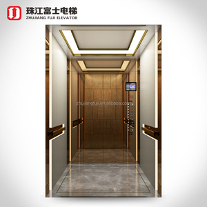 China Foshan Fuji Factory Fashion Design Fire Rated Frequency Inverter Passenger Elevator With Wholesale Price