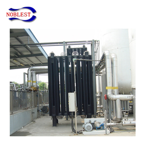 High pressure evaporator in air conditioning system