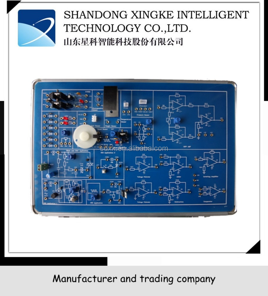Educational Training Equipment,Electronic Training Kit,XK-IES1 Analog Electronic Training Board