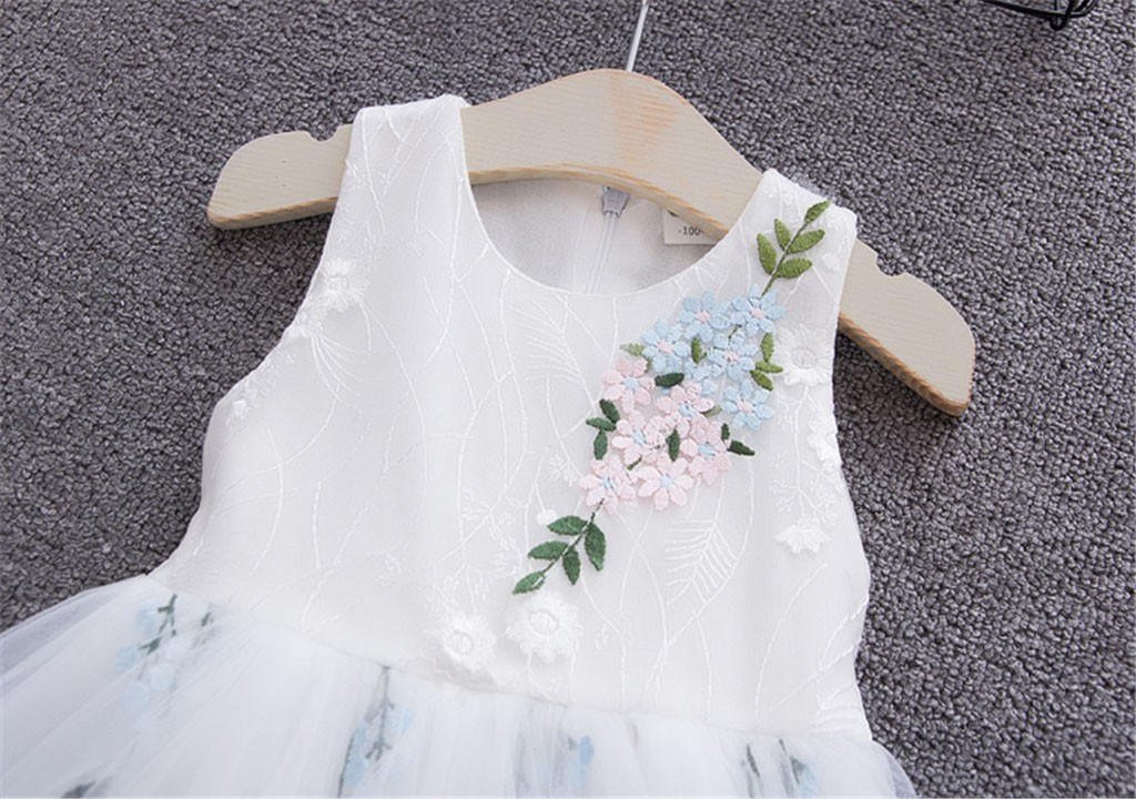 Detail Feedback Questions about Toddler Baby Girl Dress Floral Gown for  Girls Tulle Causal Birthday Party Sundress Clothes vestido  YL on  Aliexpress.com ... 78fef2264389