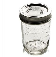 16OZ Ball glass Mason Jar regular Mouth Can or Freeze w/metal lid/use for Canning, Storing, Pickling & Preserving, pint jar