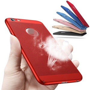New ultra thin pc back cover for iPhone X XS Max XR case with Heat dissipation function original phone bag accessories