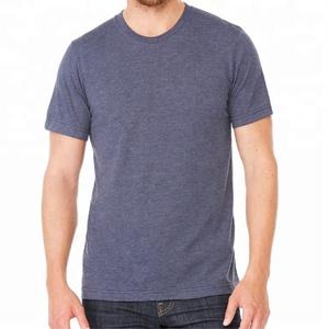 Men's Ultra Soft Tri Blend Short Sleeve blank T-Shirt