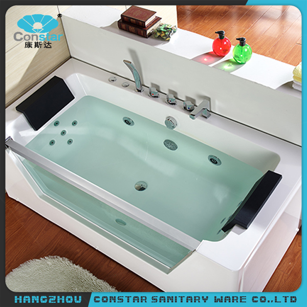 Constar Best Price Indoor Portable Acrylic Swim Spa Massage Bathtub