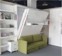 modern space saving hidden wall bed,folding murphy wall bed design furniture,space saving furniture