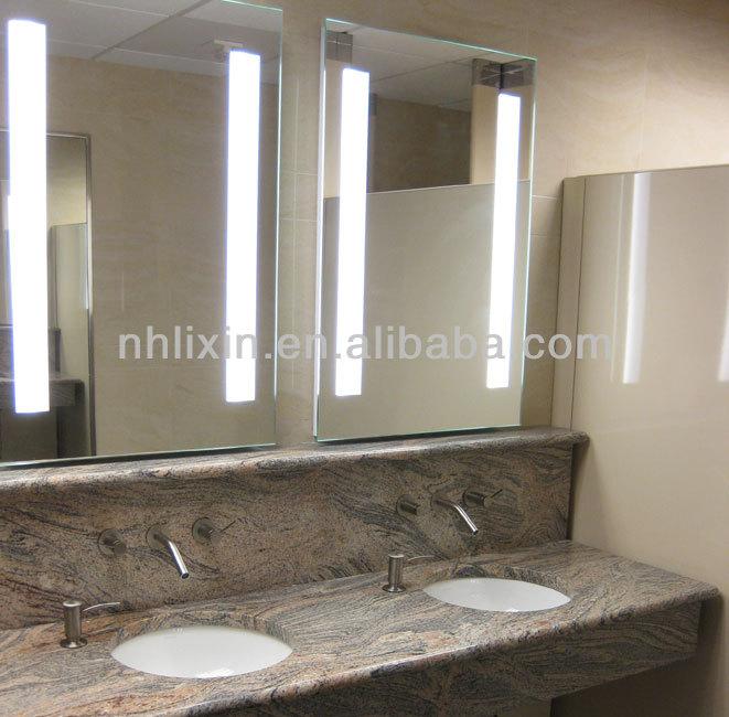 Bathroom Mirrors Backlit illuminated wall mirrors for bathroom | carpetcleaningvirginia