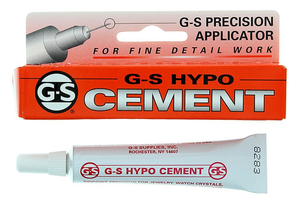 Adhesive, Cement GS Hypo Tube (1/3 fl oz) - X001