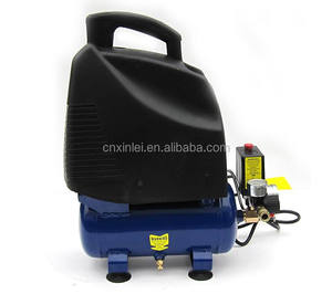 ZBW60-6L tank 1.6Gal small air compressor piston oil free air compressor