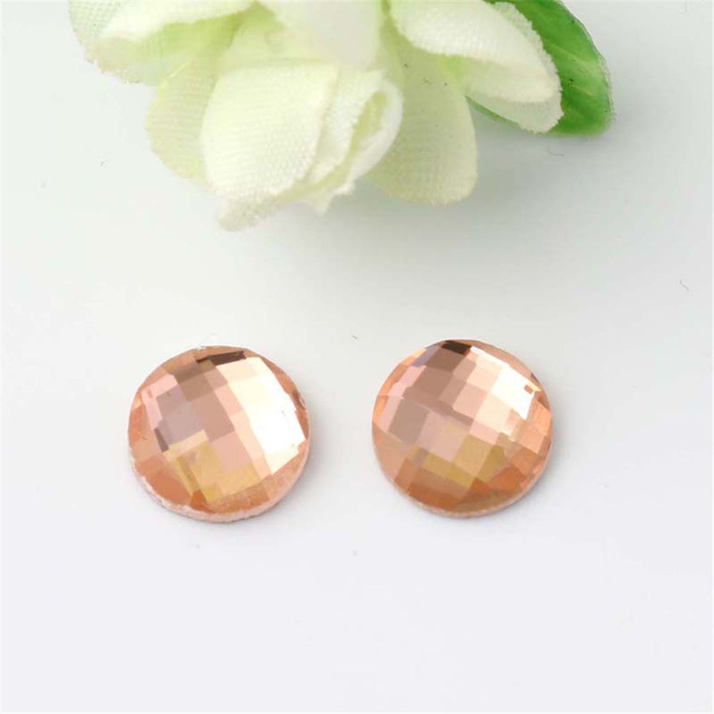 Beautiful crystal hotfix rhinestone for clothing non hot fix resin flat back stone