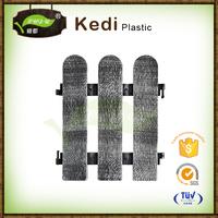Save 10% free sample premium 2016 Wood Plastic Cpmposite composite slat garden fence price