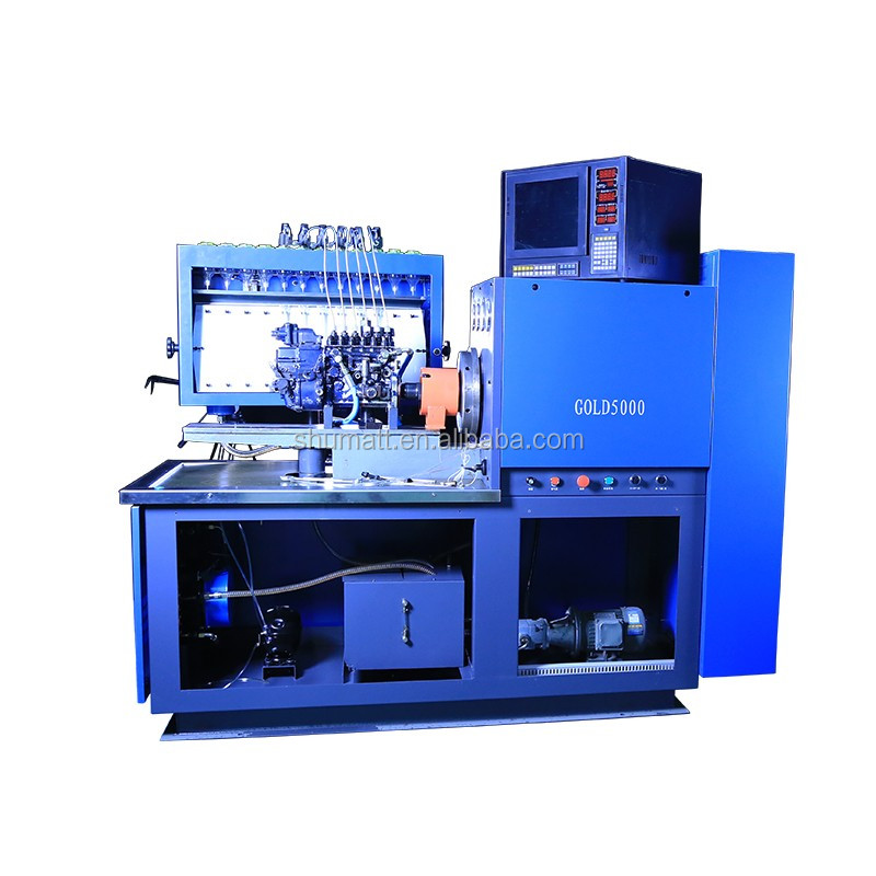 Diesel Injection Pump Test Machine With 15KW Motor And High Quality Inverter