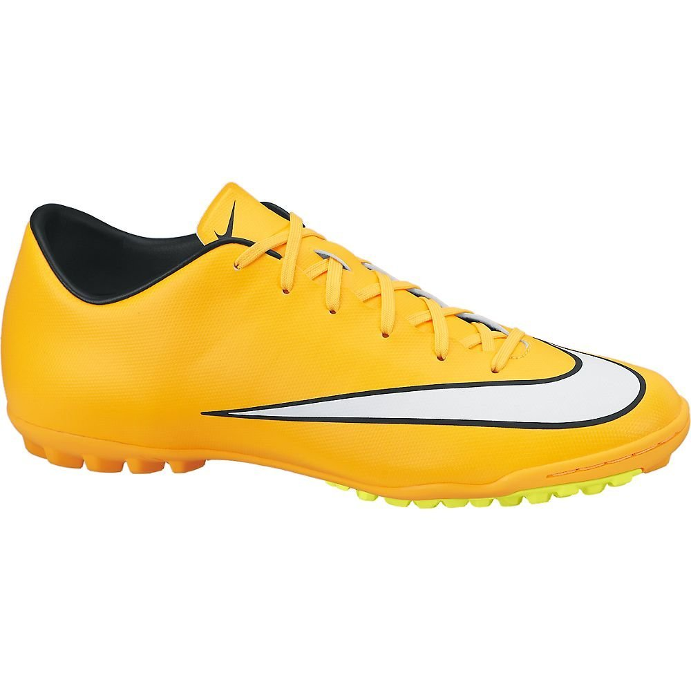 6dd997a84fd8 Get Quotations · New Nike Mercurial Victory V TF Size 12 Soccer Turf Shoe  Orange White 651646