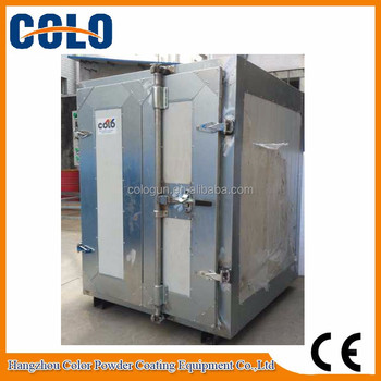 Electric powder coating curing oven buy powder coating for Paint curing oven