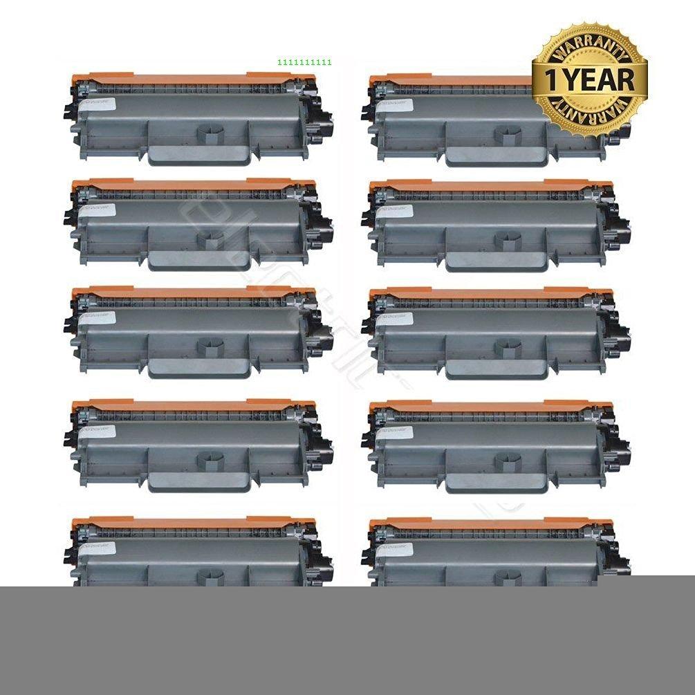 Ledona 10 High Yield Tn450 Toner Cart. For Brother Hl-2240 Hl2270Dw 2280Dw Mfc-7360N