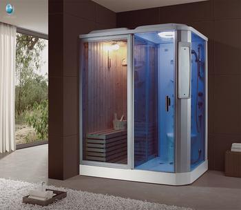K-704 Interior Sauna Baño De Vapor Completo Cuarto De Baño Con Bañera De  Hidromasaje - Buy Vapor Cerrado Aseo,Ozonizador Ducha De Vapor,Personal  Vapor ...