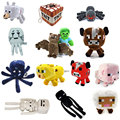 2017 Minecraft Plush Toys 16 26CM Animal Plush Stuffed Animal Toys Brinquedos minecraft Cartoon Game toys