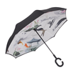 High quality umbrellas with logo prints in umbrellas inverted